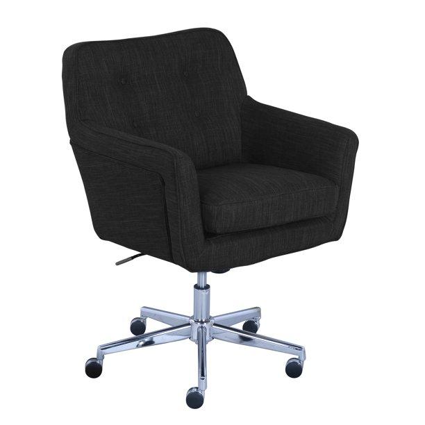 Serta Ashland Home Office Chair Charcoal Walmart Com Walmart Com
